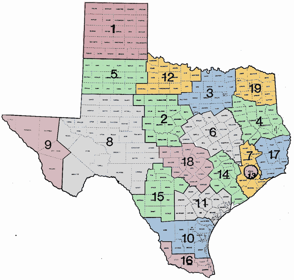 TASC District Map