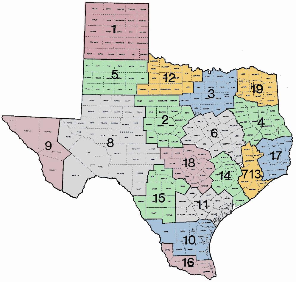 TASC District Map